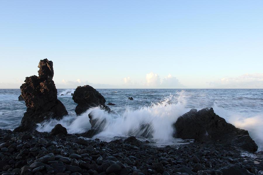 Waves Photograph - Crashing Wave by Phil Crean