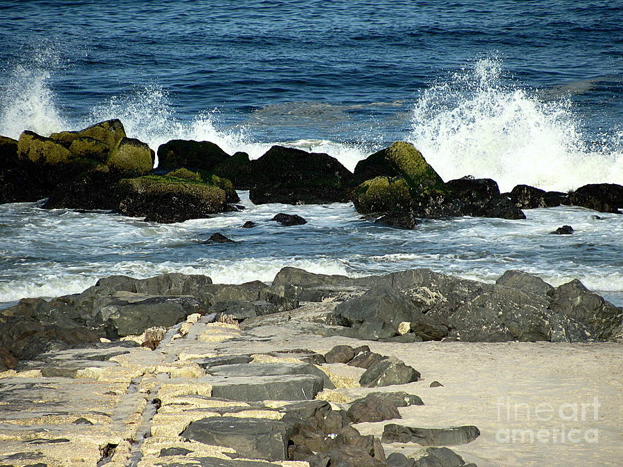 Waves Photograph - Crashing Waves by Colleen Kammerer