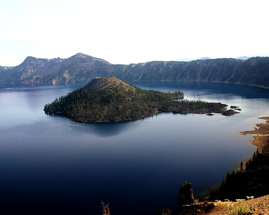 Crater Lake Photograph - Crater Lake 2 by Marty Koch