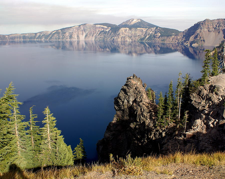 Crater Lake Photograph - Crater Lake 7 by Marty Koch