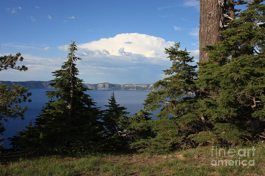 Landscape Photograph - Crater Lake 8 by Carol Groenen