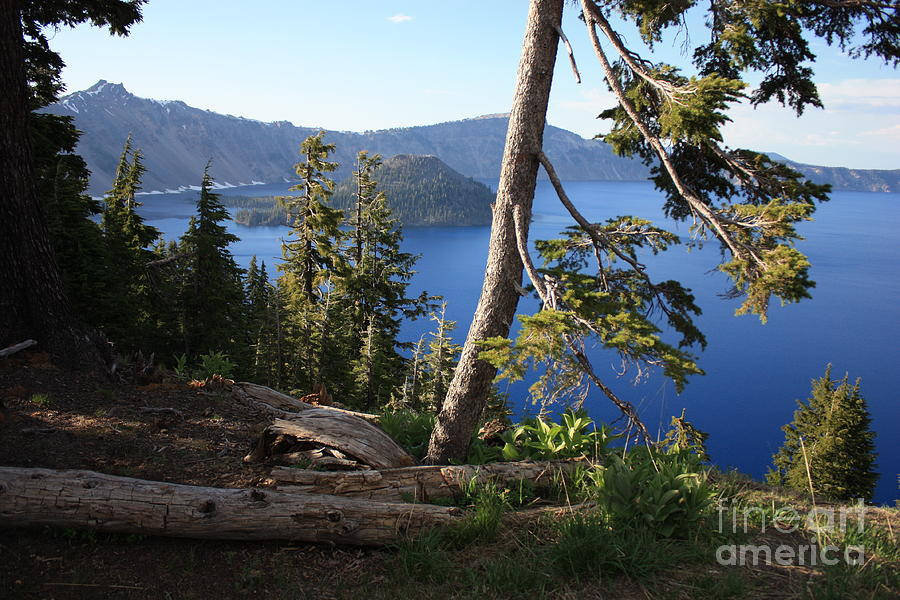 Crater Lake Photograph - Crater Lake 9 by Carol Groenen