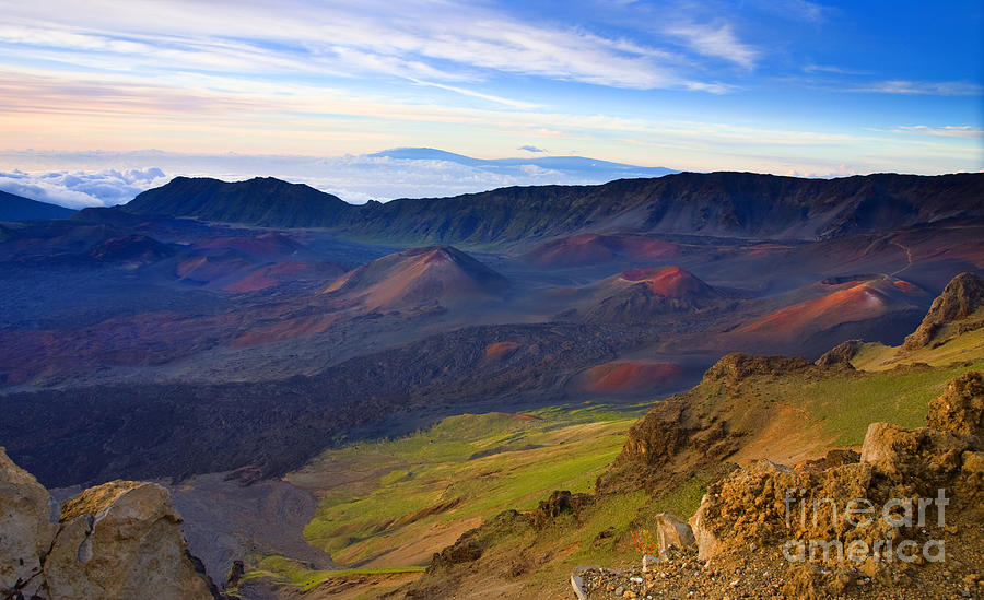 Haleakala Photograph - Craters Of Paradise by Mike  Dawson