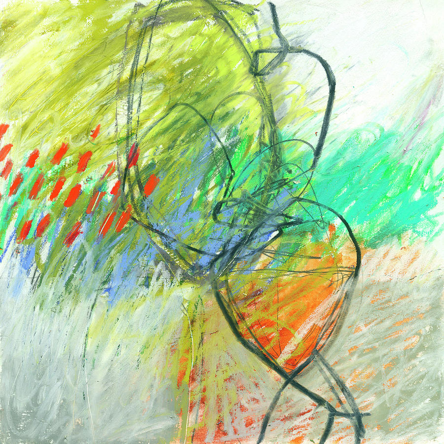 Crayon Scribble Drawing : Crayon scribble painting by jane davies