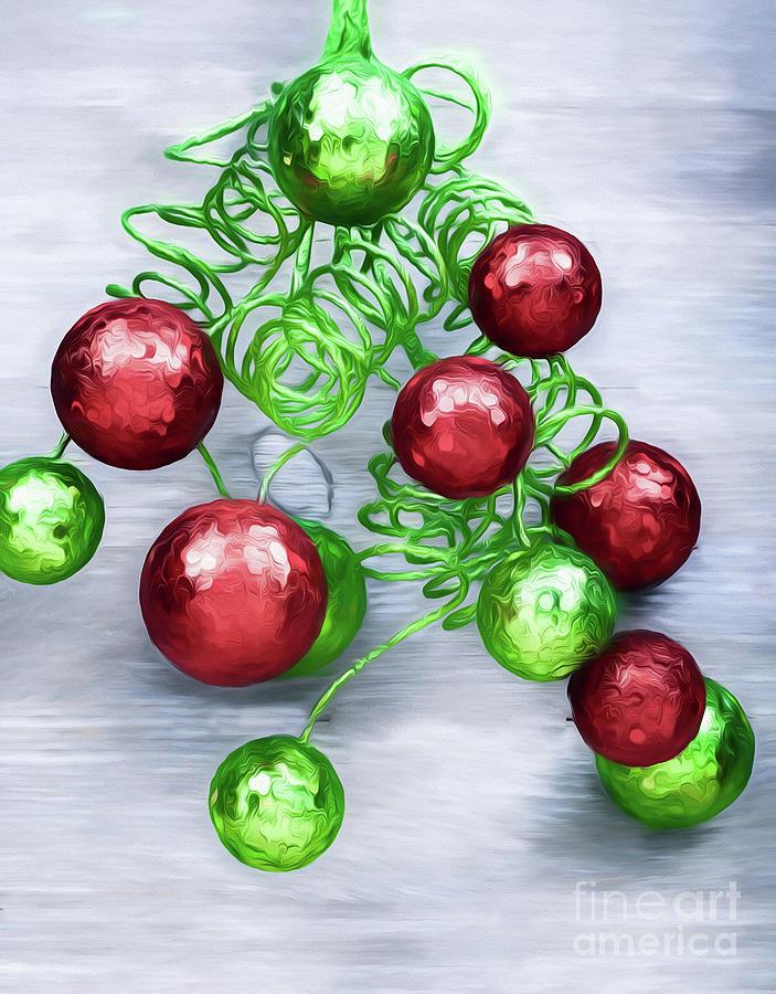 Crazy Christmas Balls Photograph