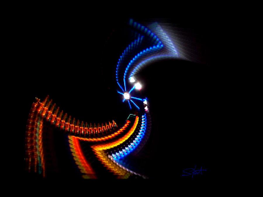 Chaos Photograph - Crazy Dancer by Charles Stuart