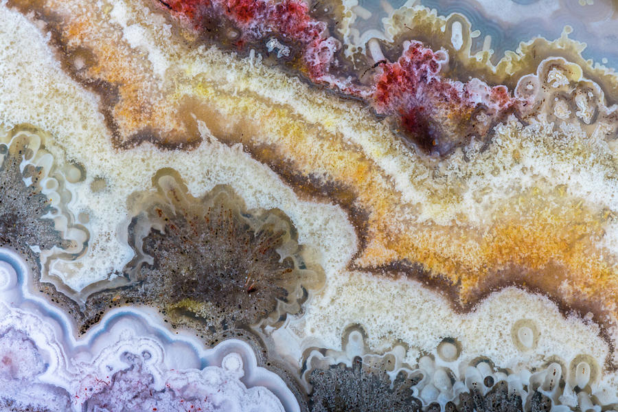 Crazy Lace Agate of Mexico by Jim and Lynne Weber