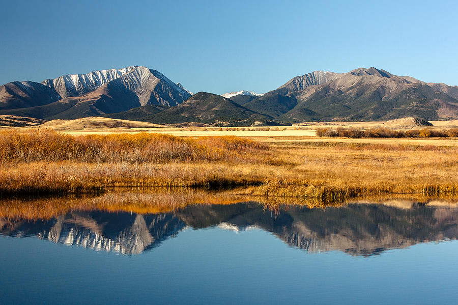 Crazy Mountain Reflections by Todd Klassy