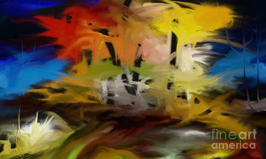 Digital Painting - Crazy Nature by Rushan Ruzaick