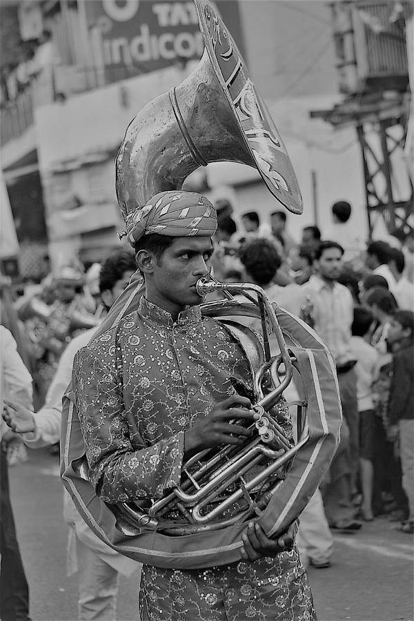 Musician Photograph - Creating Music by Karan Anand