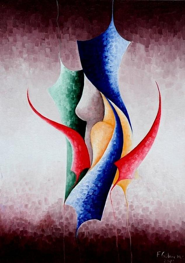 Painting Painting - Creation by Fatma Gulnar