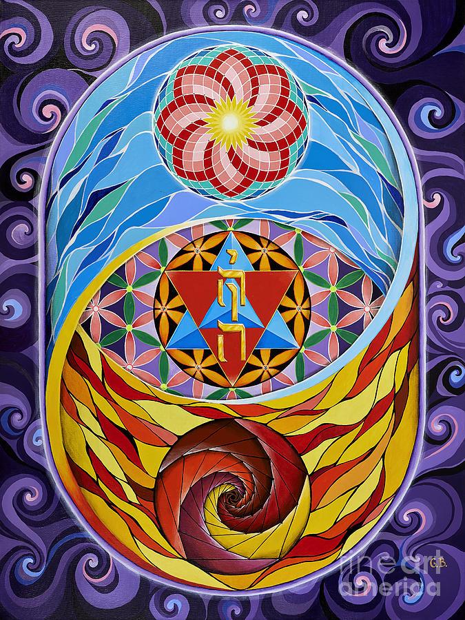 Creation Painting - Creation by Galina Bachmanova