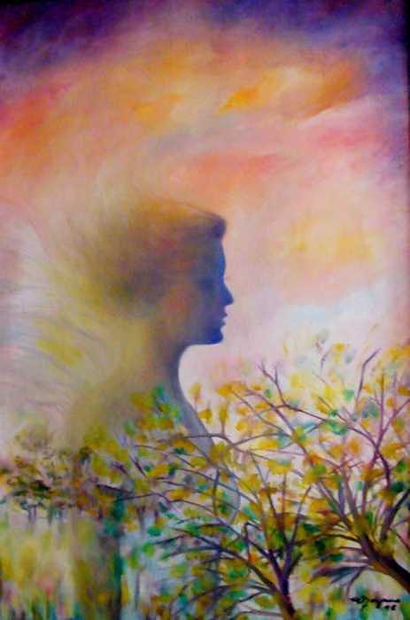 Creation Painting by Lozano Mary