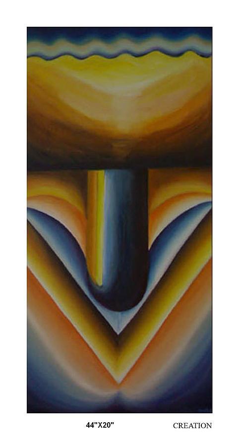 Linga Painting - Creation by Sunita Chitara