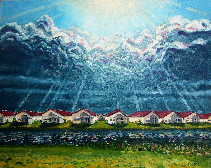 Clouds Painting - Creations by Ralph Papa