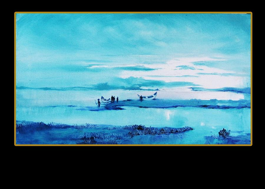 Landscape Painting - Creative Landscape by Vivek Bharambe