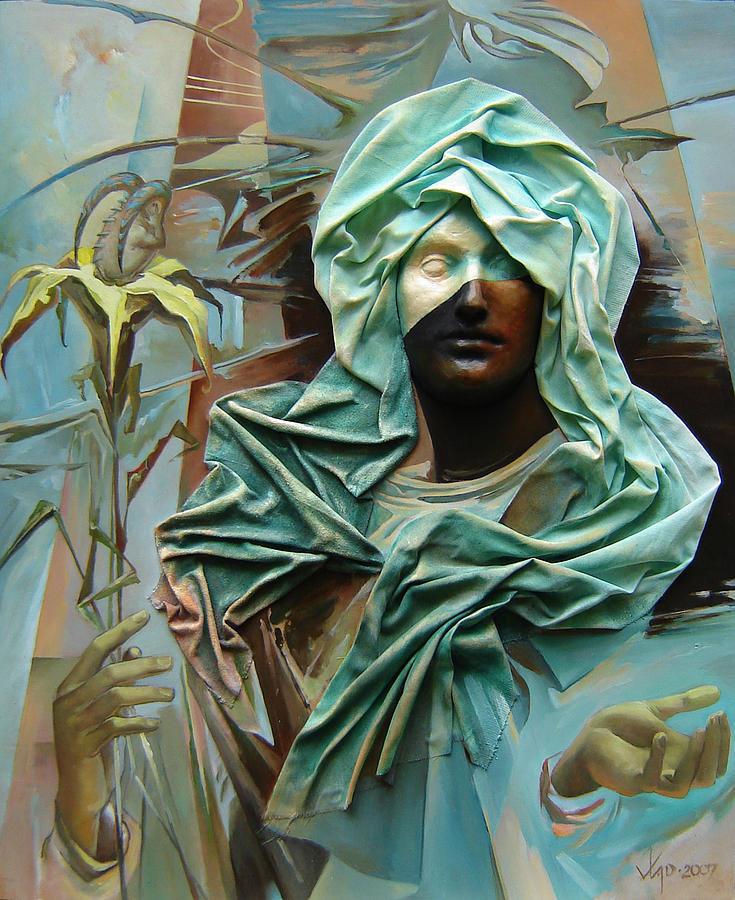 Creator Painting by Wladimir Tasoff