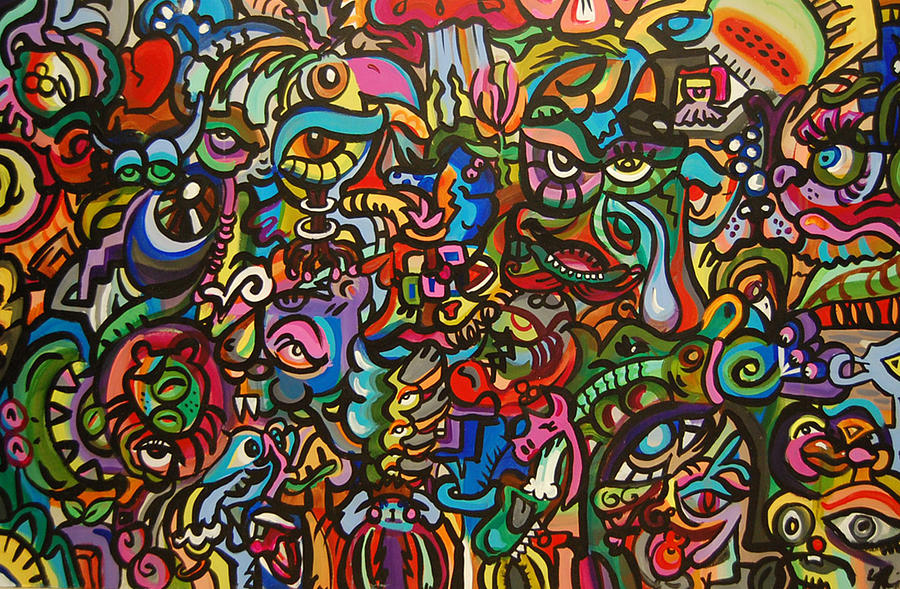 Colorful Painting - Creature Jam by Stephanie Burr