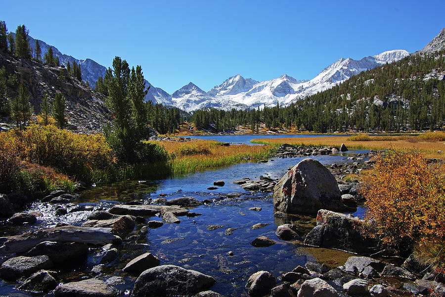 Creek at Little Lake Valley by Eastern Sierra Gallery