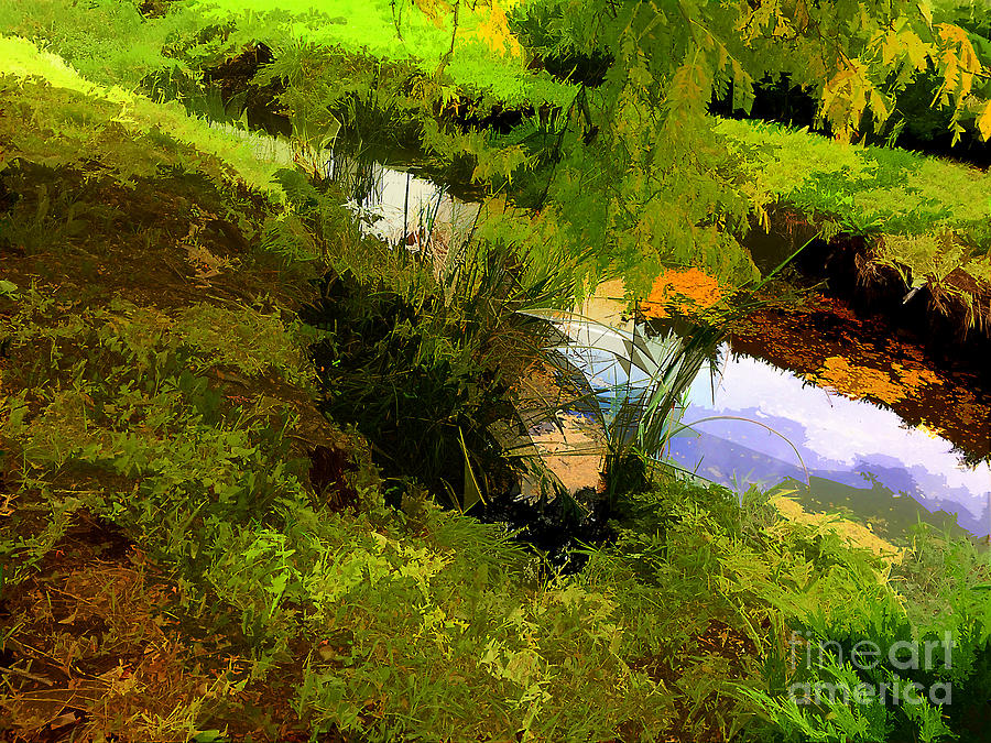 Creek Side by Frank Merrem