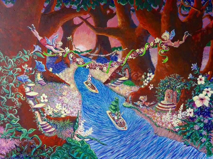Creekside Fairy Celebration by Jeanette Jarmon
