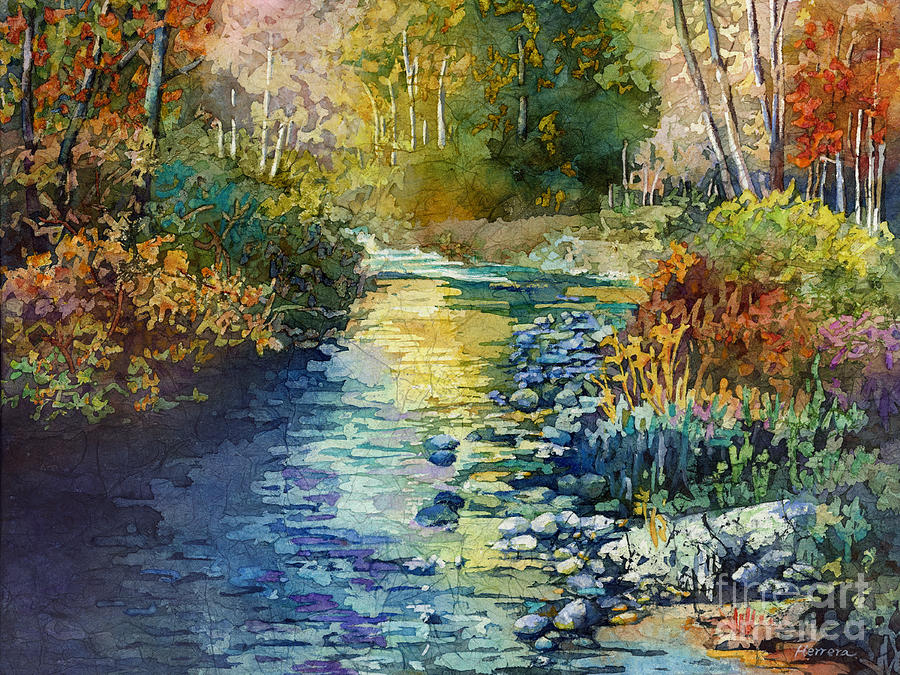 Creekside Tranquility by Hailey E Herrera