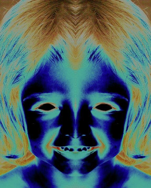 Girl Photograph - Creepy Daughter 2 by Tisha Beedle