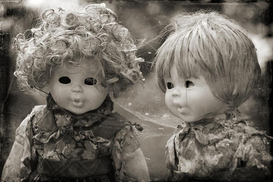 Dolls Photograph - Creepy Dolls by Ankeeta Bansal