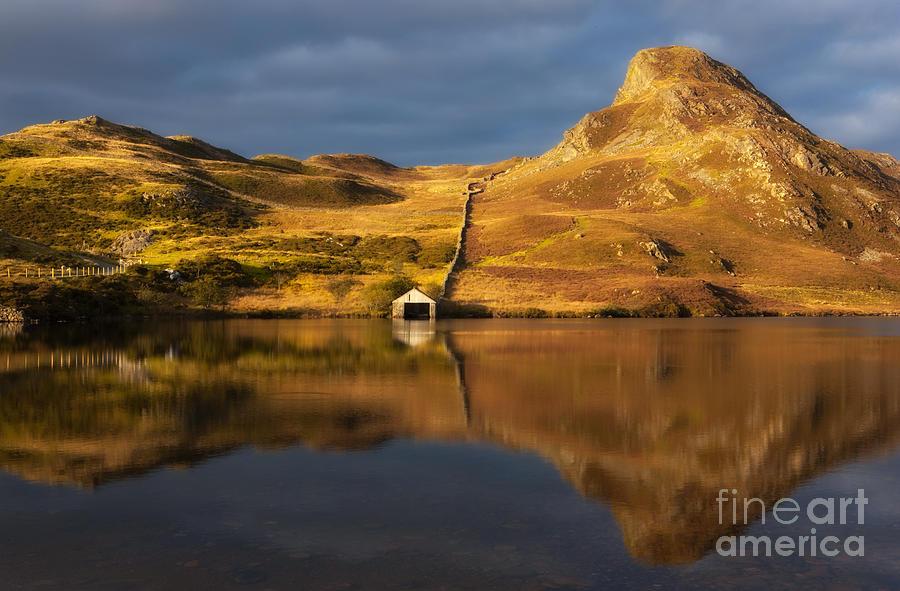 Cregennan Boathouse Photograph