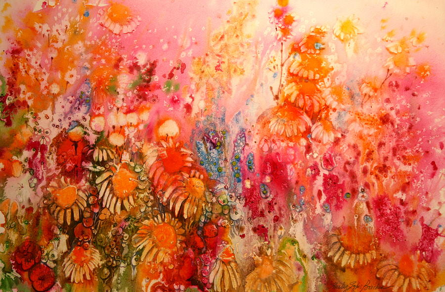 Crepe Paper Flowers By Shirley Sykes Bracken