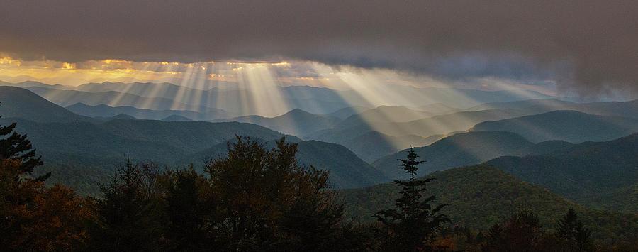 Crepuscular Rays by Rick Hartigan