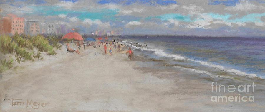 Crescent Beach, Myrtle Beach Painting by Terri  Meyer
