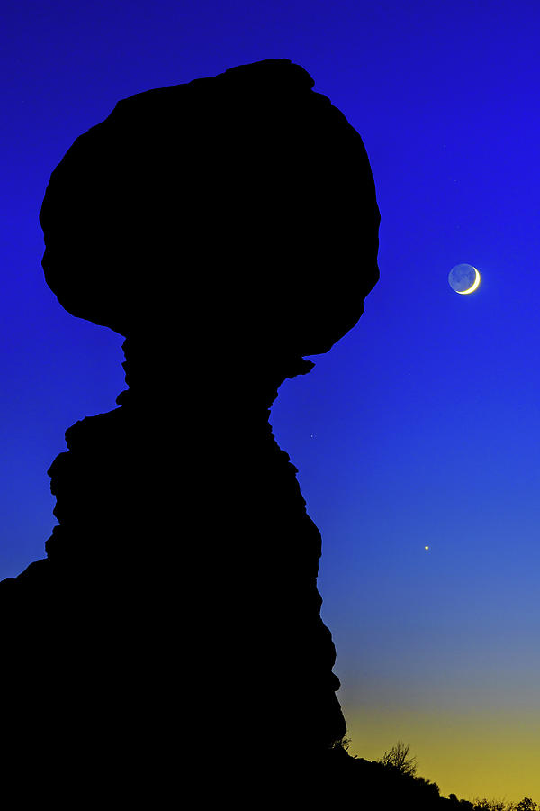 Nature Photograph - Crescent by Chad Dutson