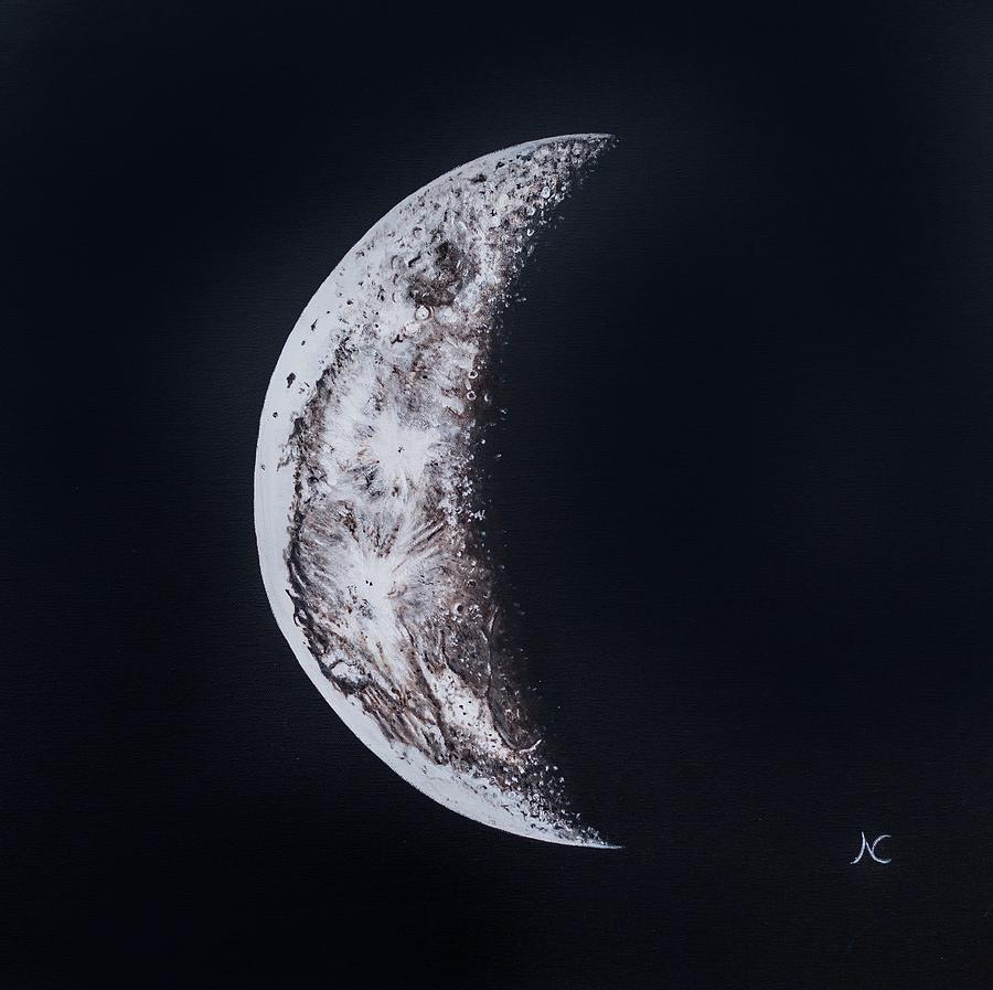 Crescent Moon by Neslihan Ergul Colley