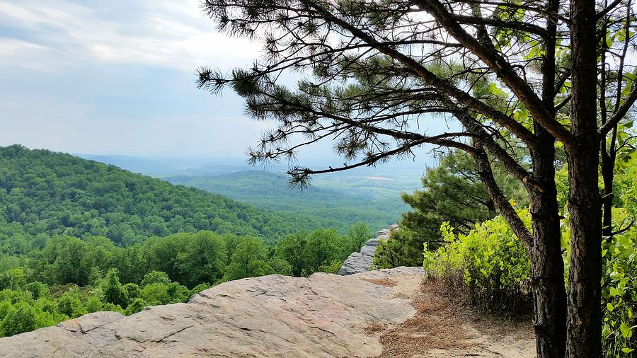 Shenandoah Valley Photograph - Crescent Rock Overlook by Kevin Carbone