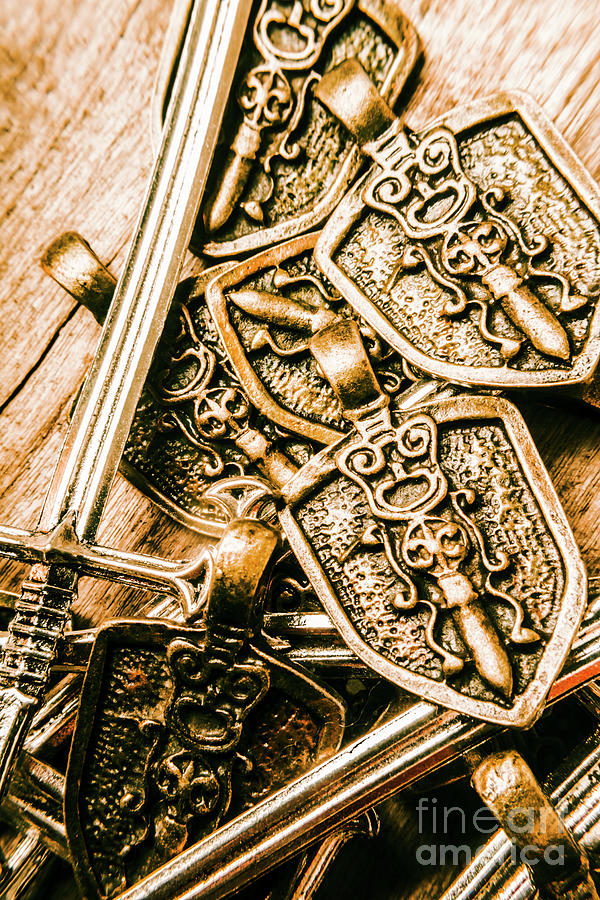 Medieval Photograph - Crests Of A Decorated Conquest by Jorgo Photography - Wall Art Gallery