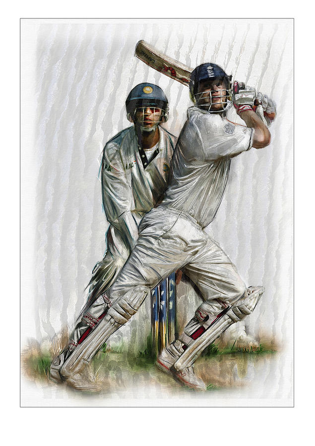 Cricket2 Painting by James Robinson