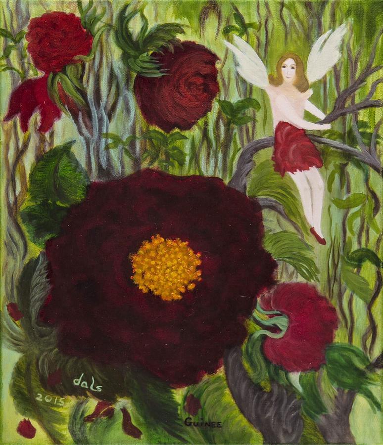 Crimson Roses by Douglas Ann Slusher