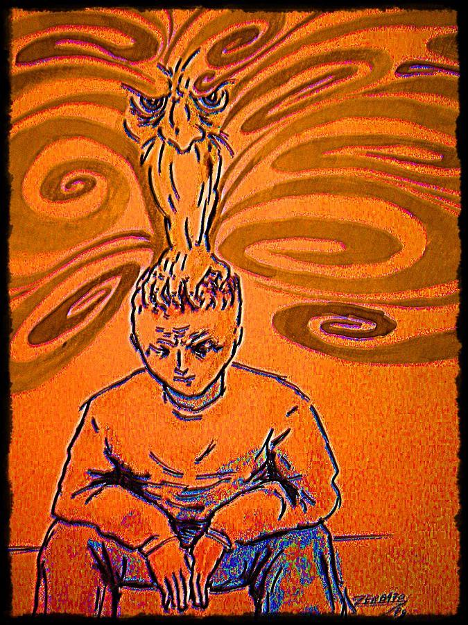 Crisis Digital Art - Crisis Of Conscience by Paulo Zerbato
