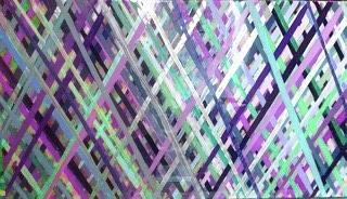 Acrylic Painting - Criss Cross by Margalit Romano