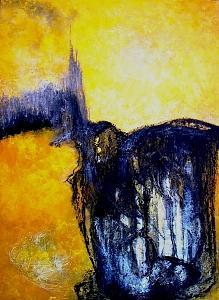 Cristal De Luz Painting by Martha Elisa Bojorquez