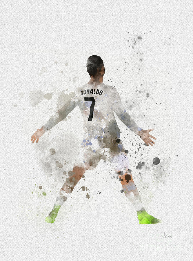 Cristiano Ronaldo Mixed Media - Cristiano Ronaldo by My Inspiration