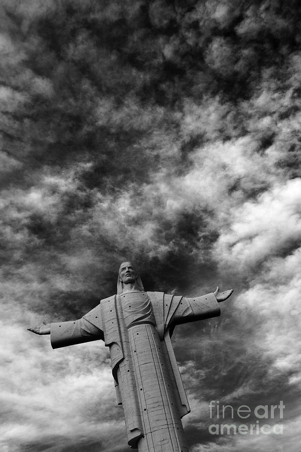 Cristo De La Concordia Cochabamba By James Brunker
