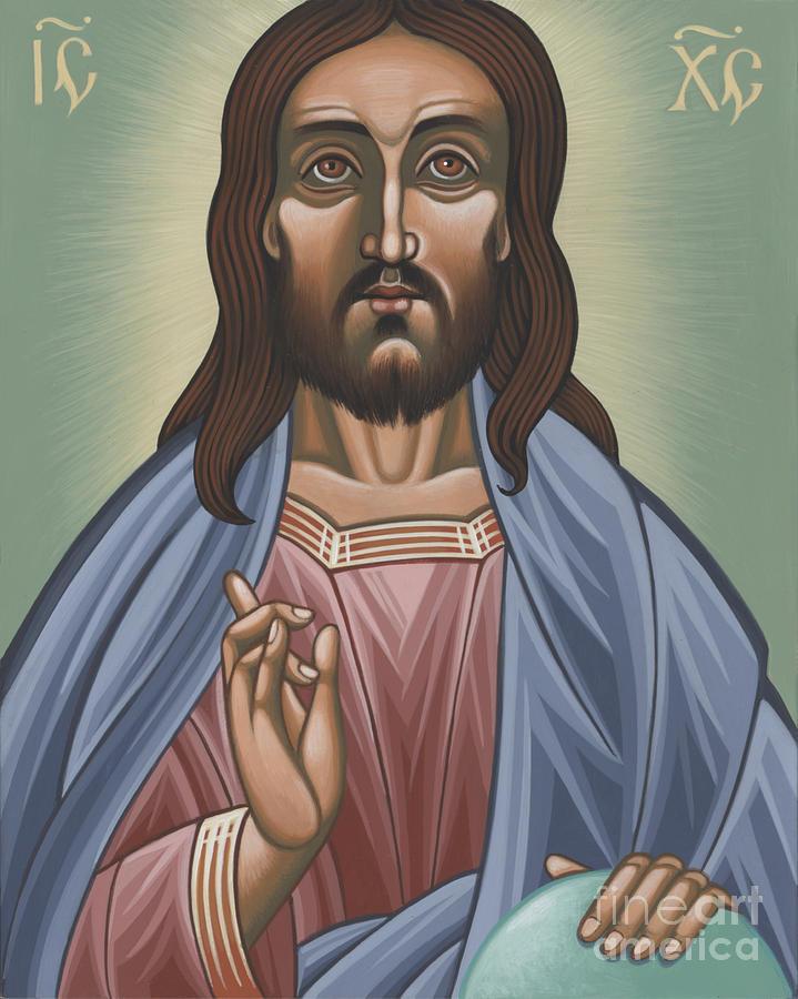 Jesus Painting - Cristo Pantocrator 175 by William Hart McNichols