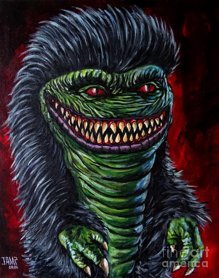 Critter Painting - Critter by Jose Mendez