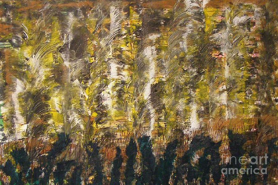 Abstract Painting - Critters by Don Phillips