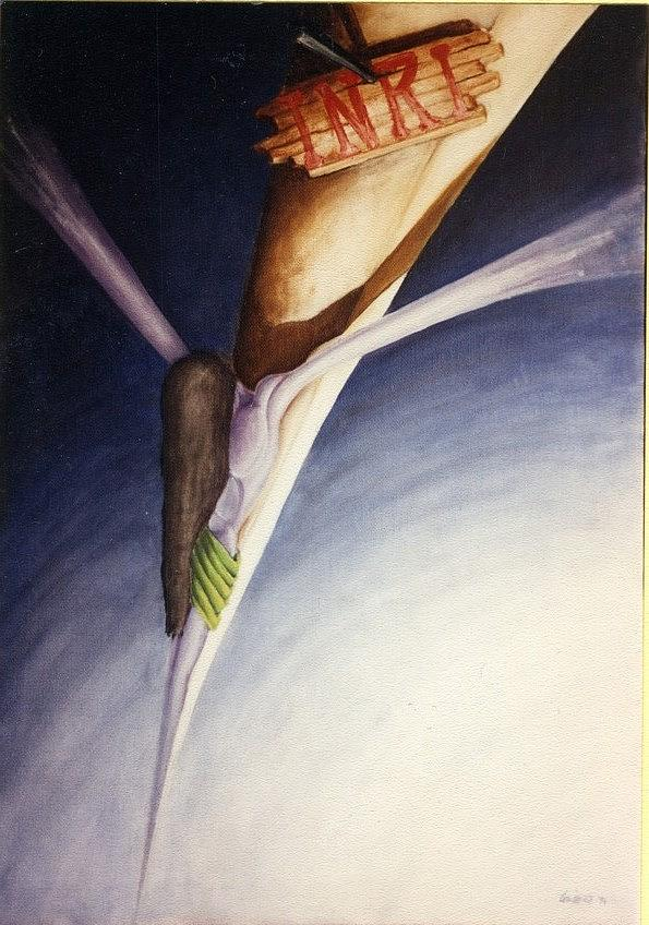Crocifisso Painting by Cosimo Rinaldi