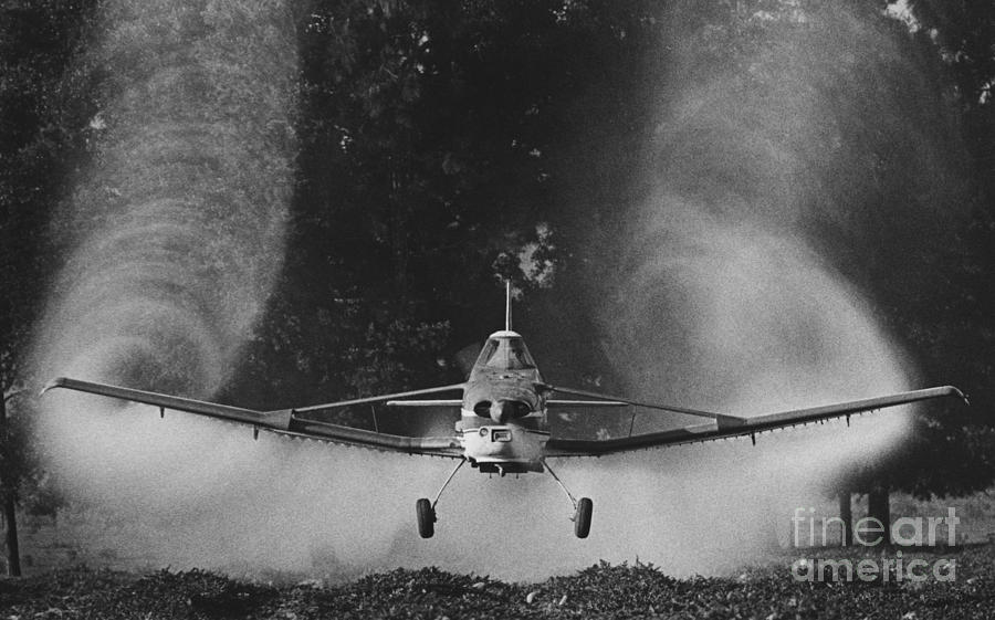 Crop Photograph - Crop Duster by Jim Wright