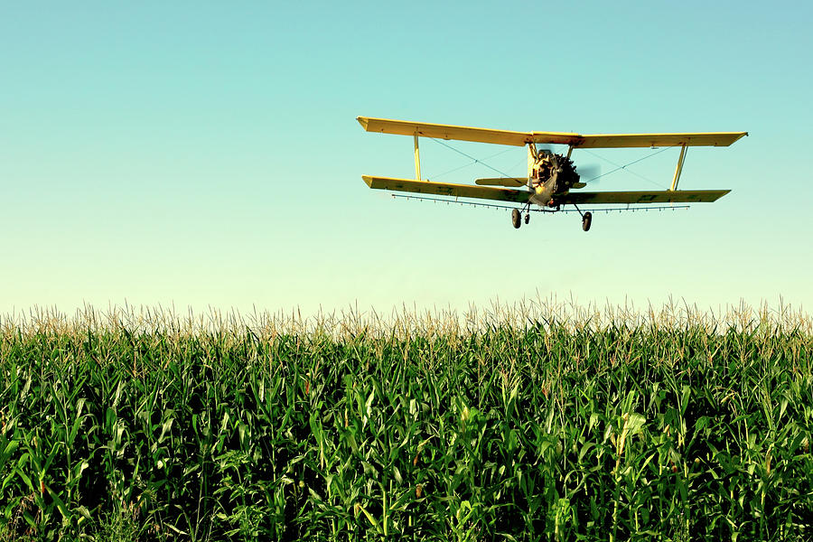 Crop Duster Photograph - Crops Dusted by Todd Klassy