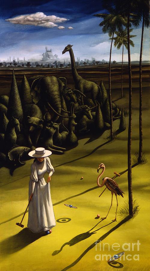 Croquet  - Croquet by Jane Whiting Chrzanoska